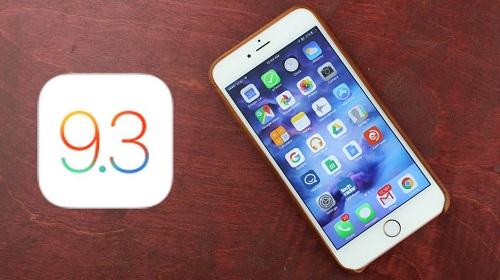 en la versión 9.3 de iOS