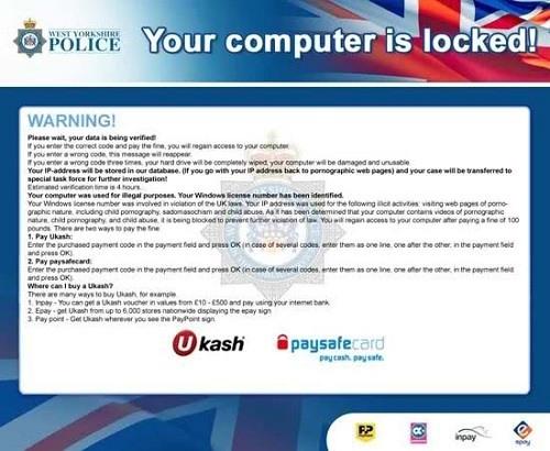 Algunos de estos virus se hacen pasar por oficinas federales