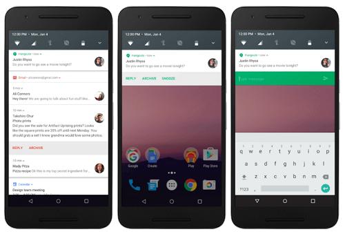 Android N Desarrollo Google