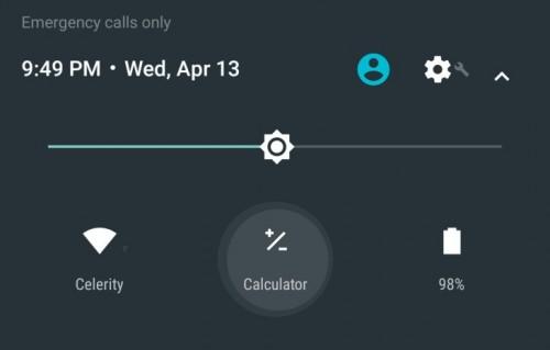 Android N permitirá utilizar la calculadora desde la pantalla de bloqueo