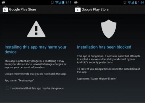 Android Seguridad Reporte Google