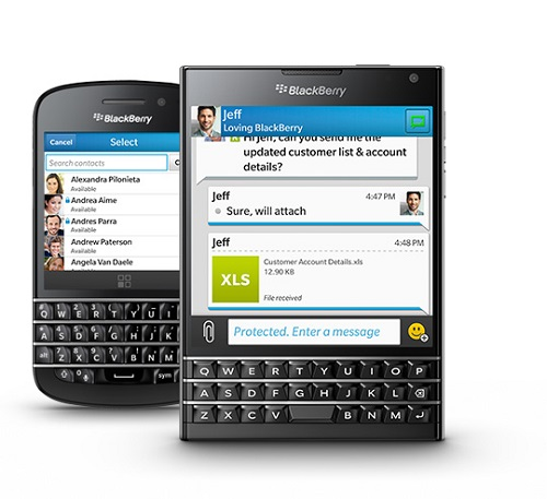 Blackberry Canada Policial Intrusion