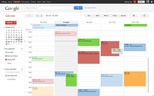 Calendario Google Recordatorios Web