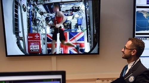 Carrera en la Estación Espacial