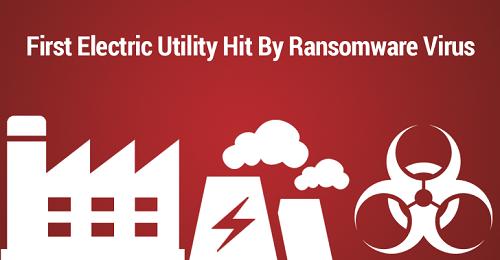 El virus de Ramsonware logra afectar a una compañía de agua y electricidad en los Estados Unidos