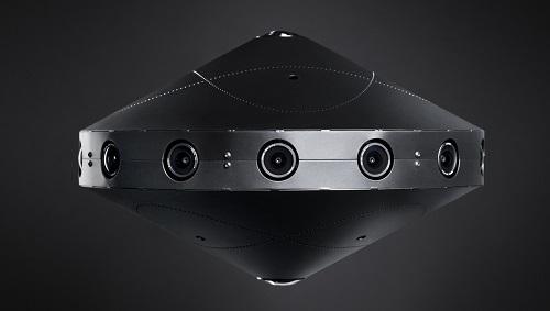 Facebook anunció una cámara que capta imágenes a 360 grados
