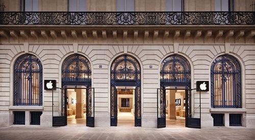 Francia Apertura Tienda Apple
