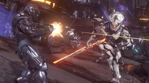 Halo 5 Warden Dificultad