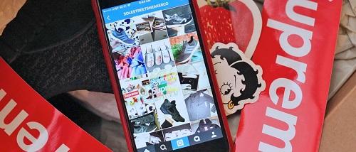 Instagram se convierte en un negocio para los revendedores