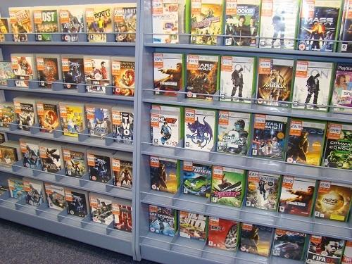 Juegos en GameStop