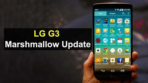 LG G3 Marshmallow Operadoras