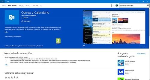La actualización permitirá integrar varios calendarios de aplicaciones en Outlook
