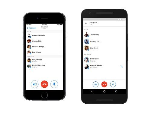 Las llamadas grupales ya se encuentran disponibles en la aplicación de Facebook Messenger