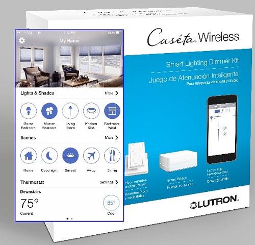 Lutron Caseta Wireless se manifiesta respetuoso con el medio ambiente