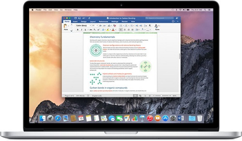 Microsoft Office para Mac ahora admite extensiones