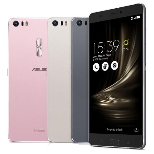 ASUS presenta su primer teléfono inteligente de metal