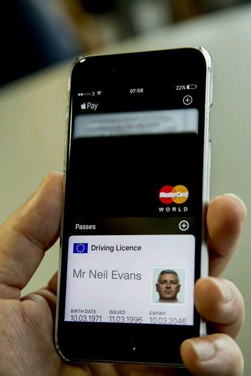 Apple Wallet Licencia Conducir