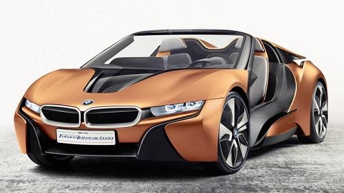 BMW i8 2017 Salida