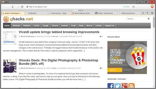 Brave Browser Script Ads
