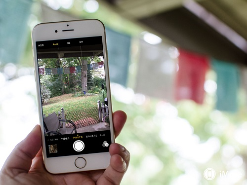 Cámara iPhone