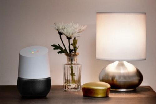 Decoración con Google Home