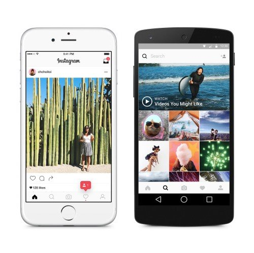 El cambio de look de Instagram marca la tendencia del blanco