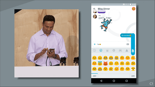 Emojis en Allo