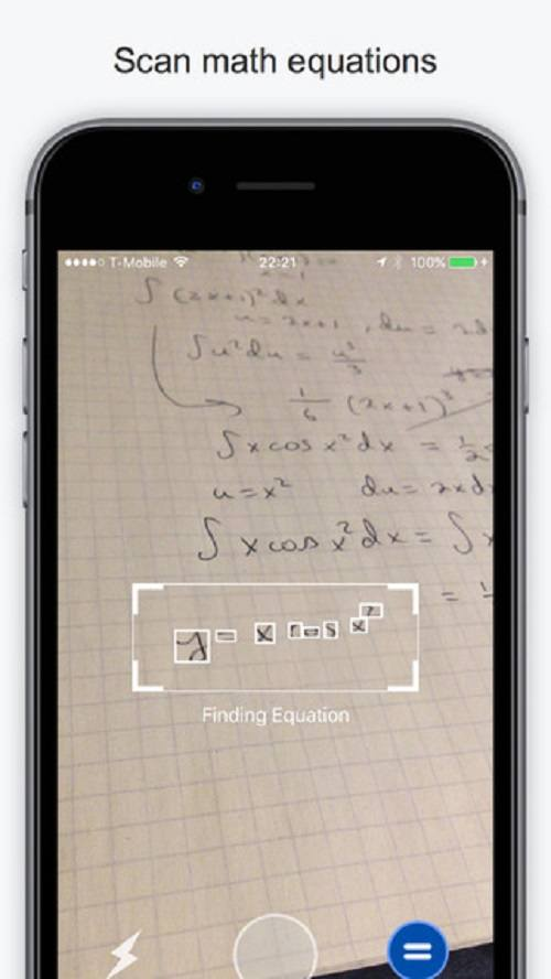 Escaneo de ecuaciones