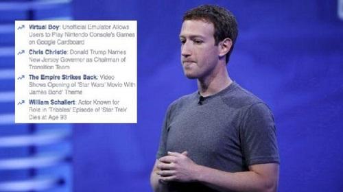 Facebook alega tener rigurosas pautas para garantizar consistencia y neutralidad
