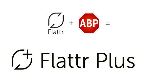 Flattr y Adblock Plus se juntaron para lanzar el proyecto Flattr Plus