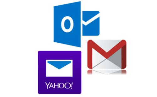 Gmail, Yahoo Mail y Hotmail fueron los principales servicios de e-mail afectados