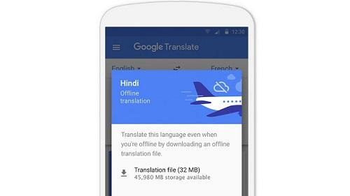 Google Translate soporta modo offline para 52 idiomas