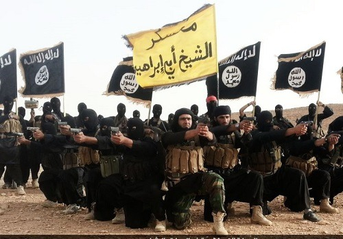 ISIS Islamico Niños Armas