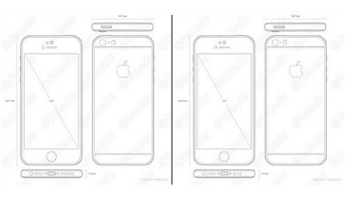 Modelos esquemáticos del iPhone 7 y iPhone 7 Plus revelados en febrero