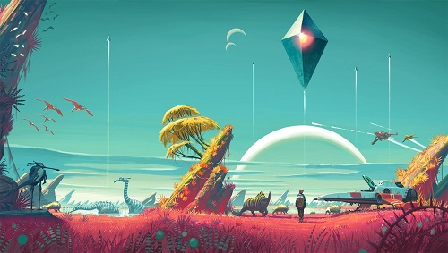 No Mans Sky Amenaza