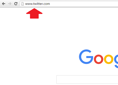 1. Ingresar URL en el navegador