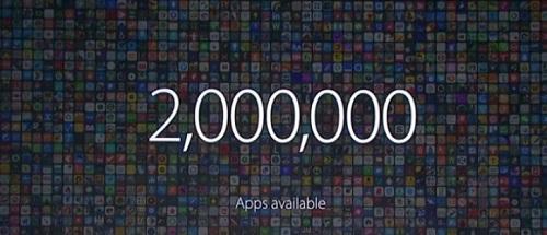2 millones de aplicaciones disponibles
