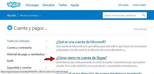 4. Cómo cierro mi cuenta de Skype