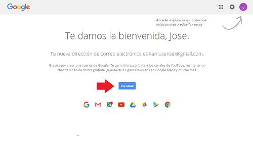 4. Ir a Gmail