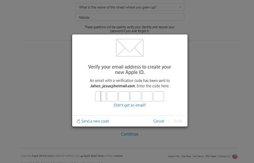 6. Verificacion de email