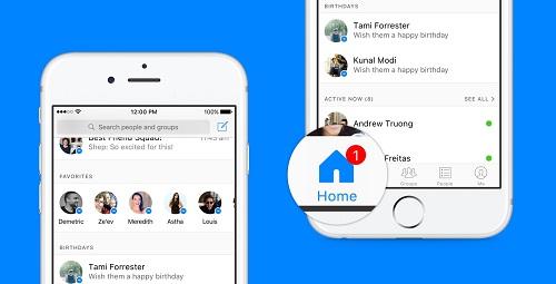 Actualizacion iOS Android Facebook