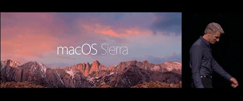 Apple anuncia la actualización de macOS Sierra
