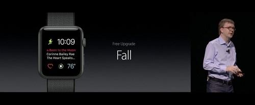 Apple desvela su nueva actualización para watchOS 3 durante el WWDC