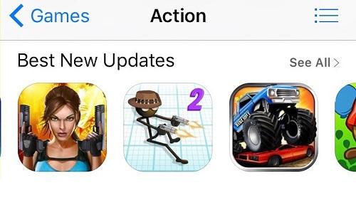Apple elimina icono de rifle pero muestra armas en su tienda de apps