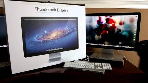 Apple venderá su último stock del Thundebolt Display