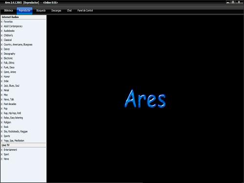 Ares 2.4.1 (versión reciente)