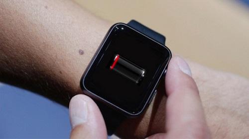 Batería baja - Apple Watch