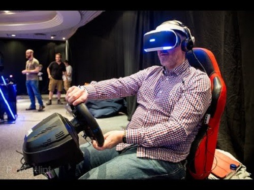 Carreras con Playstation VR