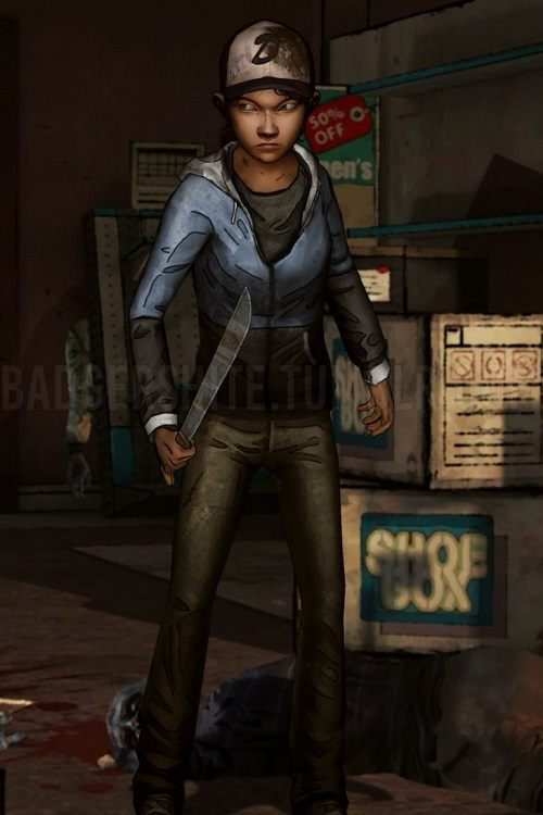 Clementine TWD Dead PC