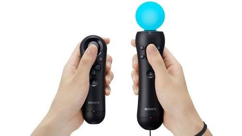Controles de movimiento VR de Sony